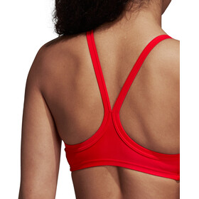 adidas Essence Core 3-Stripes Bikini Women Scarlet/Clear Orange